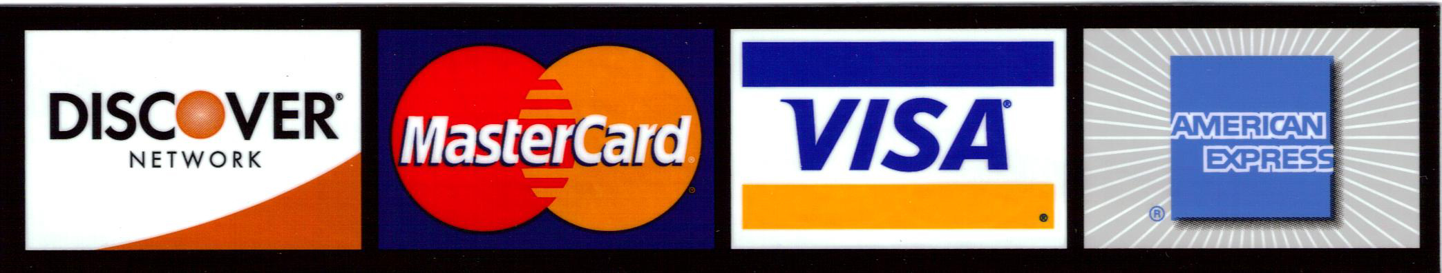 xcs credit cards accepted